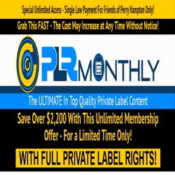 PLR Monthly Logo
