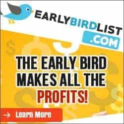 Early Bird List Banner